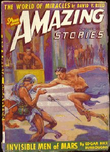 Amazing: October 1941 - Invisible Men of Mars (Llana of Gathol) - J. Allen St. John