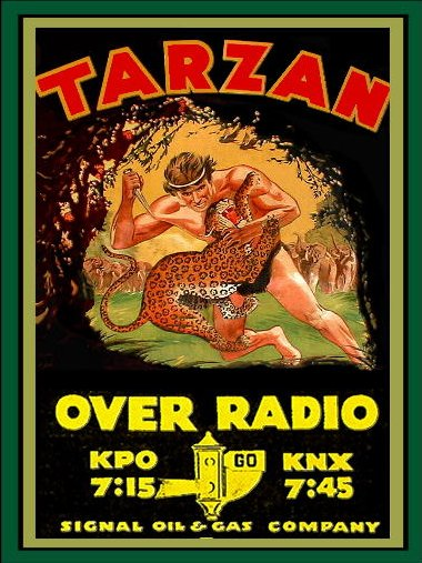 Tarzan of the Apes - Old Time Radio - Edgar Rice Burroughs