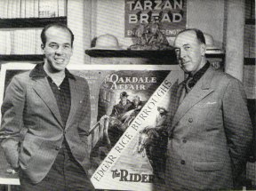 John Coleman Burroughs and father, Edgar Rice Burroughs