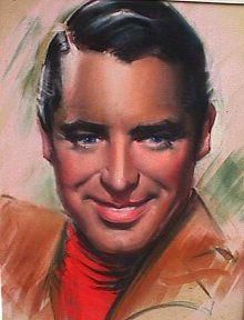Cary Grant portrait by JCB