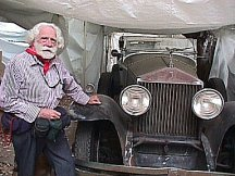 John Westervelt and his vintage Rolls Royce