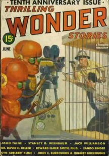 Thrilling Wonder June 1939: JC & H Burroughs - Man Without a World